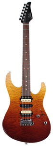 Suhr Modern Select Guitar, Quilted Maple, Desert Gradient