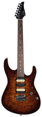 Suhr Modern Select Guitar, Quilted Maple, Bengal Burst