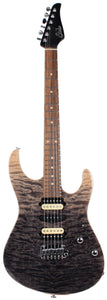 Suhr Modern Select Guitar, Quilted Maple, Black Gradient