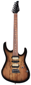 Suhr Modern Select Guitar, Black Burst, Spalt