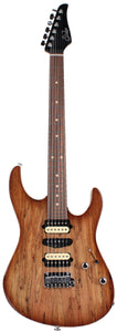 Suhr Modern Select Guitar, Natural Burst, Spalted Maple