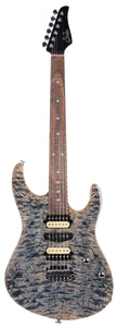 Suhr Modern Select Guitar, Quilted Maple, Trans Blue Denim Slate - JS7Y2C