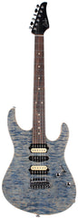 Suhr Modern Select Guitar, Quilted Maple, Trans Blue Denim Slate - JS4G2Y
