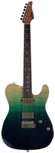Suhr Modern T Select 2021 Guitar, Aqua Blue Gradient