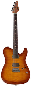 Suhr Modern T Select 2021 Guitar, Iced Tea Burst