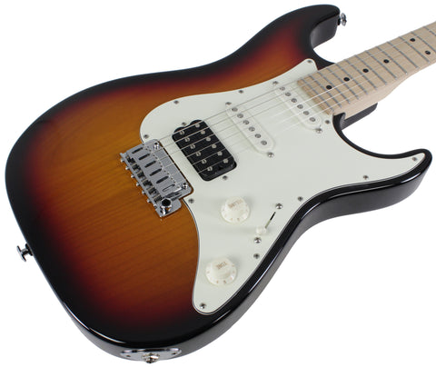 Suhr Standard Guitar, 3-Tone Sunburst, Maple