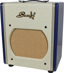 Swart AST Pro Amp - Custom White / Blue Sparkle