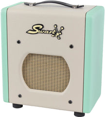 Swart Space Tone Atomic Jr, Surf Green, Ivory