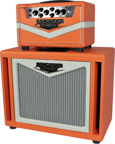Jackson Ampworks Britain 30 Head & Cab - Orange