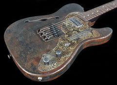 Trussart Deluxe Steelcaster Rust-O-Matic w/ Paisley