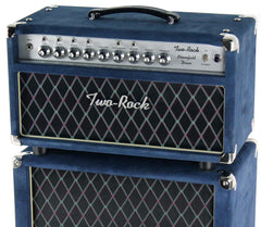 Two-Rock Bloomfield Drive 100/50 Head & 2x12 Cab, Blue Suede