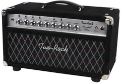 Two-Rock Bloomfield Drive 100/50 Head, Black Suede