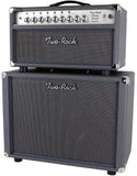 Two-Rock Classic Reverb Signature 50 Tube Rectified Head, Silverface, 1x12 Cab, Slate Grey