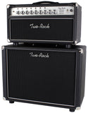 Two-Rock Classic Reverb Signature 50 Tube Rectified Head, Silverface, 1x12 Cab, Black