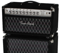 Two-Rock Classic Reverb Signature 50 Tube Rectified Head & Cab, Black Suede
