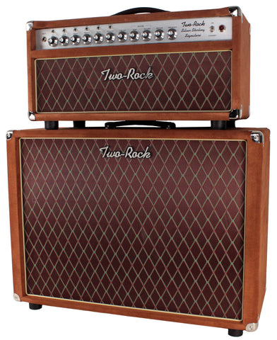 Two-Rock Silver Sterling Signature 100/50 Head/Cab, Tobacco Suede