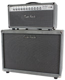 Two-Rock Silver Sterling Signature 150/75 Head/Cab, Silver Suede - B-Stock