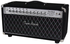 Two-Rock Silver Sterling Signature 150/75 Head, Black Suede, Diamond Grille