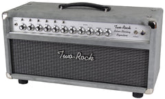Two-Rock Silver Sterling Signature 100/50 Head, Silver Suede