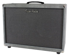 Two-Rock 2x12 Horizontal Speaker Cab - Grey Suede