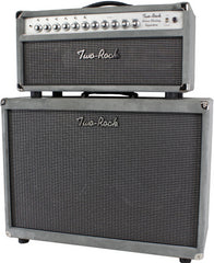 Two-Rock Silver Sterling Signature 100/50 Head/Cab, Silver Suede