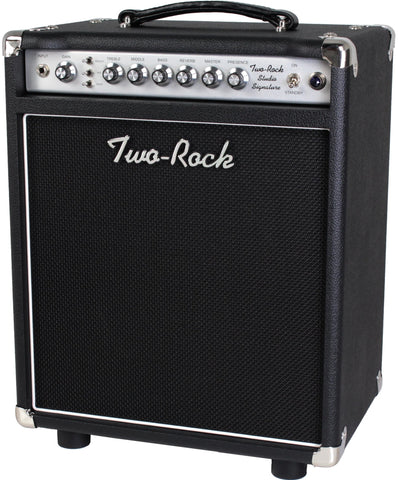Two-Rock Studio Signature 1x12 Combo Amplifier, Black, Silverface