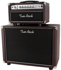 Two-Rock Studio Signature Head/Cab, Brown Ostrich, Silverface