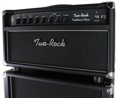 Two-Rock Traditional Clean 100/50 Head & 2x12 Cab, Carbon Fiber