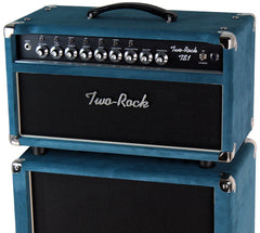 Two-Rock TS1 Tone Secret 50 Watt Head / 2x12 Cab, Blue Suede