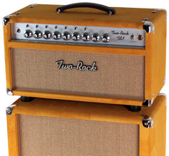 Two-Rock TS1 Tone Secret 100/50 Watt Head / 2x12 Cab, Gold Suede
