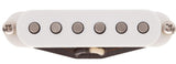 Lollar Strat Blonde Pickup, Neck, White