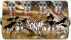 Zvex Sonar Tremolo Pedal - Hand Painted Bats