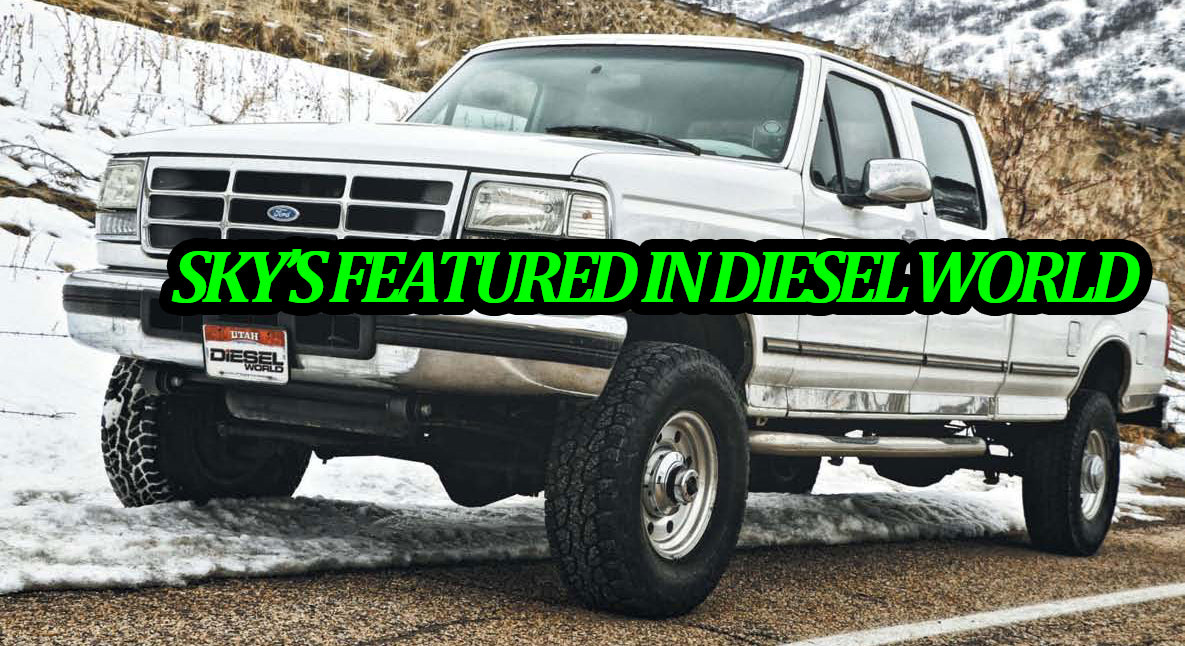 Project Obsessed Get Sky's Reverse Shackle Kit with Super Duty Springs