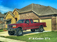 92-97 F-250/350 Shackle Reversal Kits (Superduty spring)