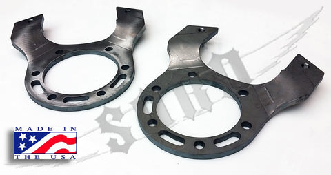 "Dana 60 15"" Wheel 8 Lug Front Disc Brake Brackets"