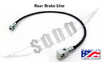 92-97 Ford Multi-Layer Extended Brake Lines