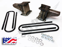 "85-04 Ford F-250/350 4x4 6"" Block/Ubolt Kit."