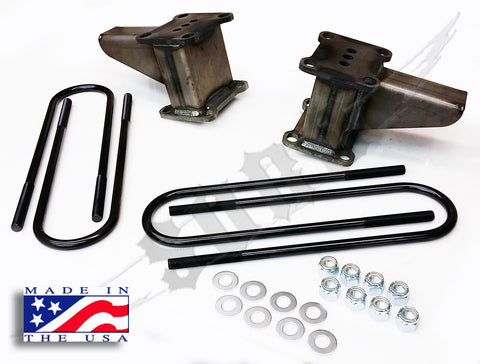 "Ford F-350 4x4 6"" Block/Ubolt Kit."