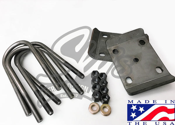 92-97 Ford Sterling Spring Plate and U-Bolt Kit