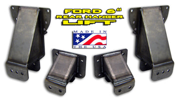 "88-97 Ford 6"" Hanger and Rear Flip Kit"