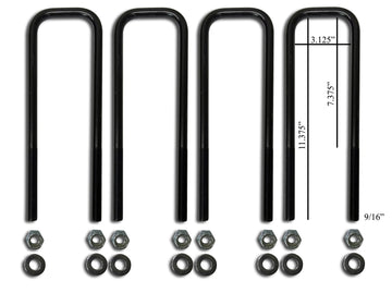 Ford Front U-Bolt Kits