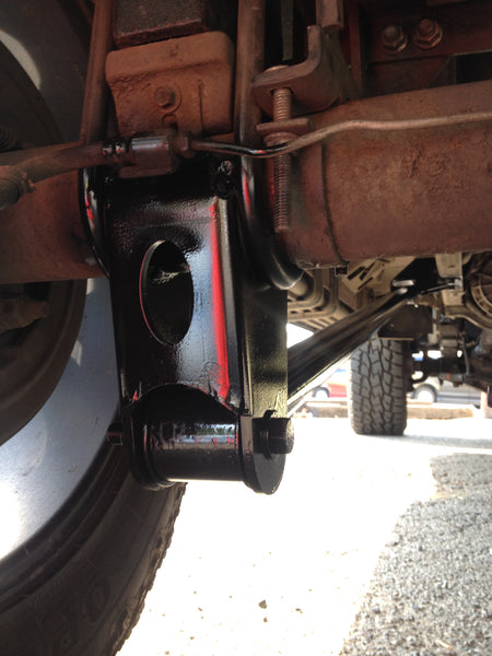 88 04 Ford Dual Link Traction Bar System Sky Manufacturing