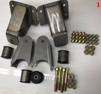 Sky's Ford Traction Bar Bracket Kit
