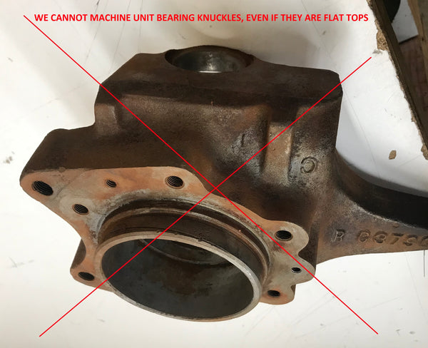 Dana 44 High Steer Knuckle Machining (Ford-Chevy-Dodge-Scout)