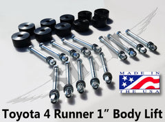 Toyota 1 Inch Body Lift Kit
