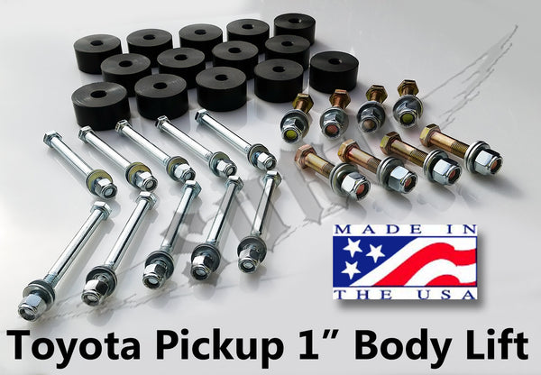 Build Your Own Dodge >> Toyota 1 Inch Body Lift Kit – Sky Manufacturing