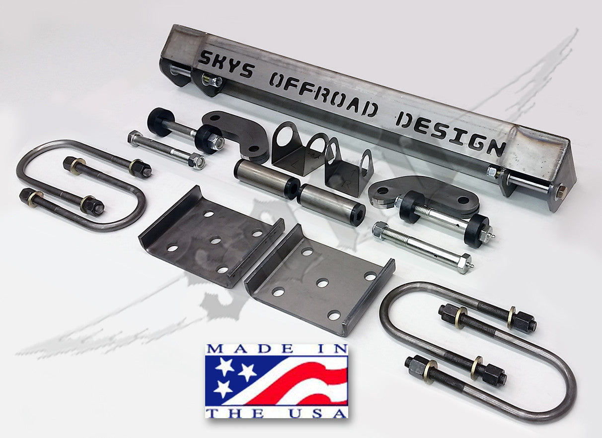Toyota Solid Axle Swap Kit Stage 2