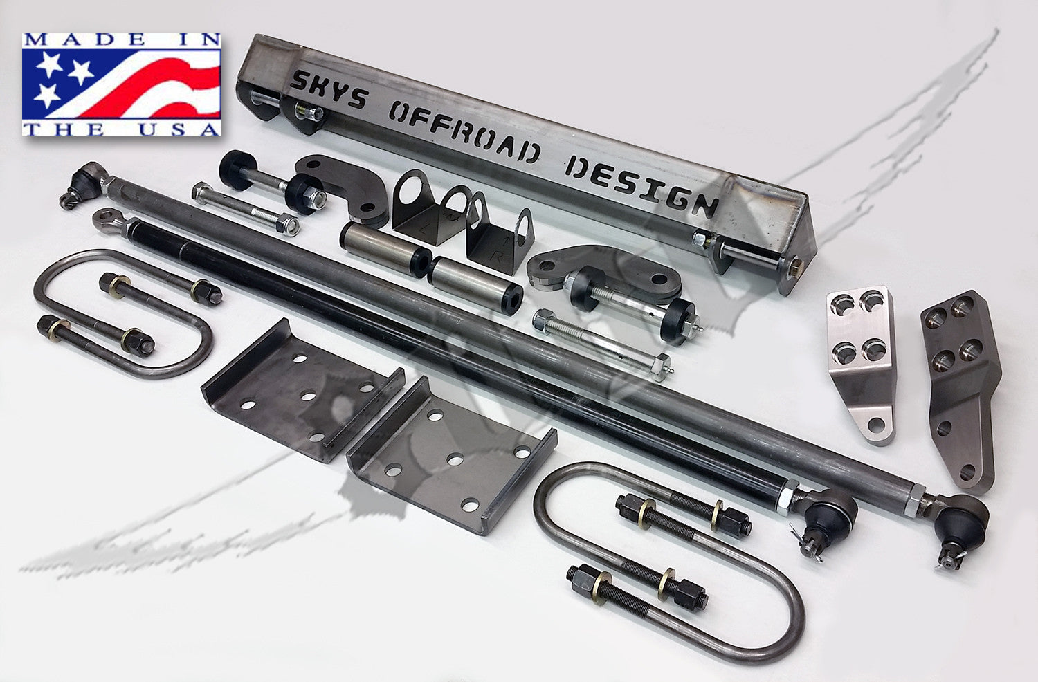 Made In Design Sas.Toyota Solid Axle Swap Kit Stage 3
