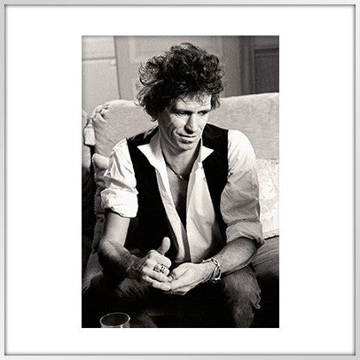 Keith Richards, Hotel Ritz, Paris, 1984
