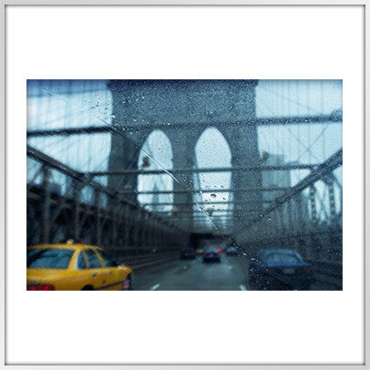Brooklyn Bridge Rainy